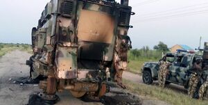 کشته شدن ۱۴ نفر در حمله افراد مسلح به پایگاهی نظامی