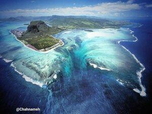 تا به حال آبشارهای زیر دریا رو دیدید؟ +عکس