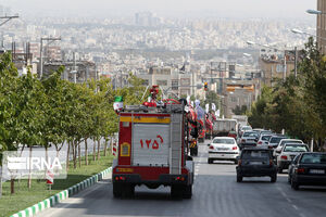 نشت آمونیاک با تلاش آتشنشانان مشهد مهار شد