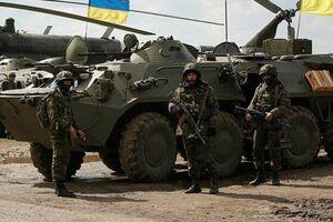 رزمایش اوکراین با اعضای ناتو - کراپشده