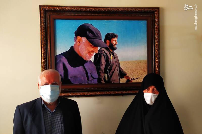 چرا «حاج قاسم» نام این مدافع حرم را تغییر داد؟! + عکس