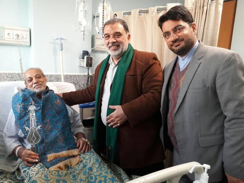 کرونا ۳ پیرغلام را راهی بیمارستان کرد+عکس