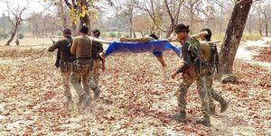 کشته شدن 22 نیروی امنیتی هند در حمله جنگجویان چپگرا