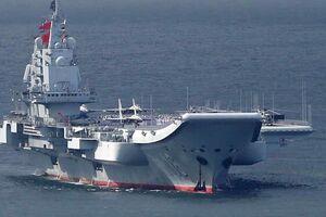 نمایش قدرت چین به آمریکا با حرکت ناو گروه «لیائونینگ» به اقیانوس آرام - کراپشده