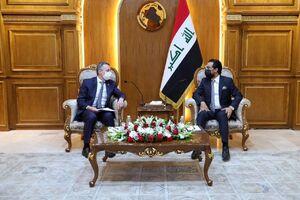 رییس مجلس عراق با وزیر خارجه سوییس دیدار کرد