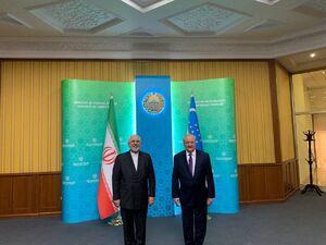 عکس/ دیدار وزرای امور خارجه ایران و ازبکستان