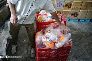 تنظیم بازار با ۱۷۰۰ تن مرغ