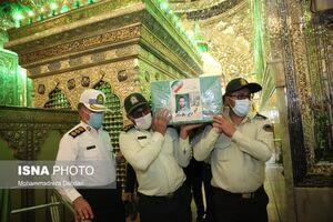 عکس/ تشییع شهید محمدحسین دهقانی در شیراز