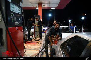 کاهش ۴۵ درصدی مصرف بنزین