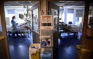 عکس/ بخش مراقبت های ویژه کووید ۱۹ در پاریس