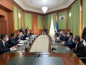 گزارش توییتری ظریف از دیدار و گفتگو در ازبکستان