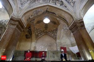 عکس/ زیبایی معماری حمام وکیل شیراز