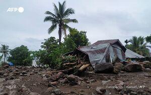 عکس/ سیل مرگبار در اندونزی