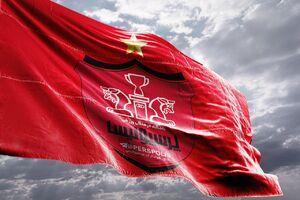 فیلم/ جا زدن پرچم تیم پرسپولیس بجای چین!