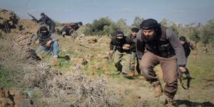 ربوده شدن بیش از ۱۰ شهروند سوری توسط داعش