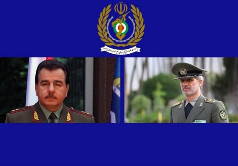 وزیر دفاع تاجیکستان به تهران سفر کرد