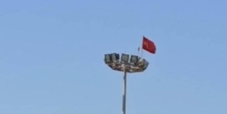 ماجرای نصب پرچم چین در جزیره قشم