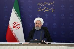 سخنرانی رئیسجمهور در جلسه هیئت دولت آغاز شد