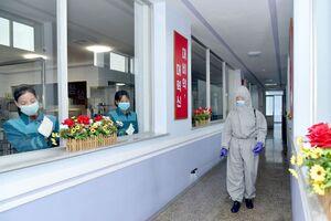 ضدعفونی کارخانه تولید آب معدنی در کره شمالی