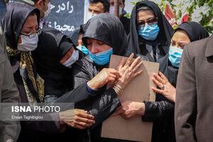 عکس/ تشییع «شهدای محیطبان» در زنجان