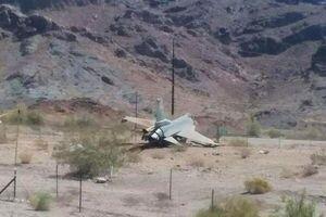 سقوط یک فروند جنگنده اف – ۱۶ ارتش ترکیه