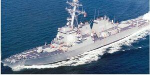 ۱۲ جنگنده چینی در کمین «ناو موشک انداز جان مک کین» آمریکا