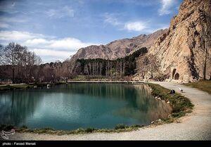 عکس/ محوطه تاریخی طاق بستان را ببینید