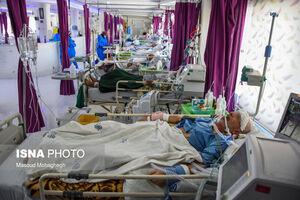 عکس/ وضعیت قرمز کرونایی در بیمارستان کوثر سمنان