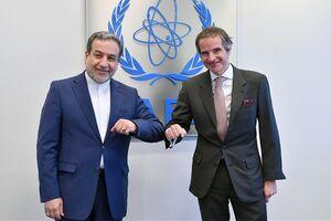 عراقچی با رافائل گروسی مدیرکل آژانس بینالمللی انرژی اتمی دیدار کرد
