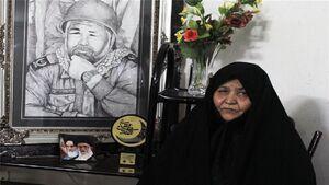 همسر شهید بابانظر به لقاءالله پیوست