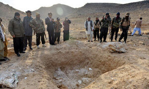 کشف گور دسته جمعی در شمال غرب پاکستان