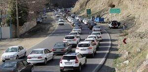 ترافیک سنگین جاده کرج-چالوس را یک طرفه کرد