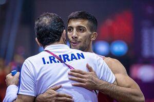 تمجید اتحادیه جهانی از ستاره کشتی ایران