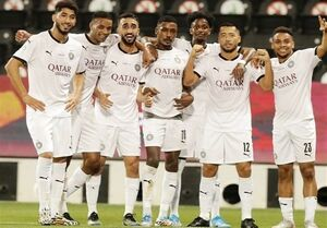 قهرمانی بدون شکست السد در لیگ قطر