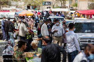 عکس/ جمعه بازار کرونایی در همدان