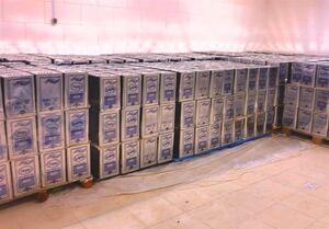 کشف ۶ تن روغن خوراکی احتکار شده در بازار تهران