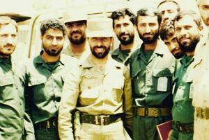 عکس/ دو سپهبد شهید ارتش و سپاه در یک قاب