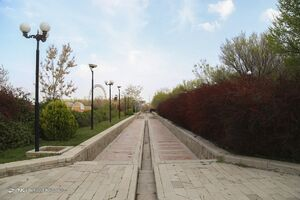 عکس/ تعطیلی پارکها در تبریز