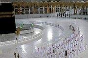 عکس/ اولین نماز جمعه ماه رمضان در مسجدالحرام