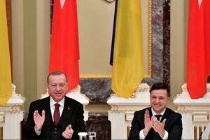 تأکید اردوغان و زلنسکی بر «مشارکت راهبردی» ترکیه و اوکراین
