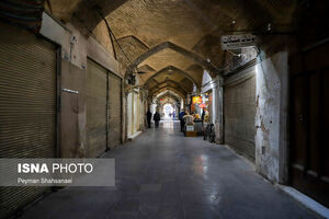 عکس/ تعطیلی اصناف در پیک چهارم کرونا در اصفهان