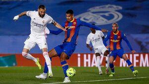 فیلم/ خلاصه بازی رئال مادرید ۲ - بارسلونا ۱