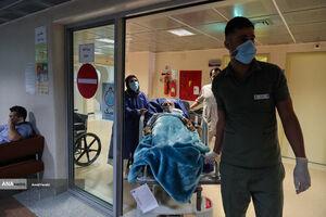 عکس/ بیمارستان فرهیختگان در وضعیت قرمز کرونایی