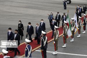 عکس/ صف دیپلماتهای کره جنوبی در تهران