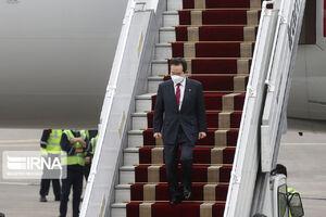 استقبال از نخست وزیر کره جنوبی در تهران