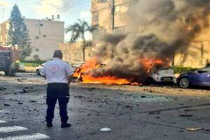 انفجار یک خودرو در تل آویو / یک نفر کشته شد