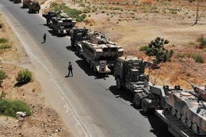 کاروان لجستیک آمریکا در عراق هدف قرار گرفت - کراپشده