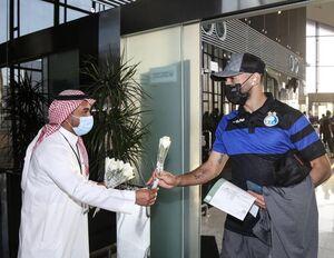 استقبال سعودیها از کاروان استقلال +عکس