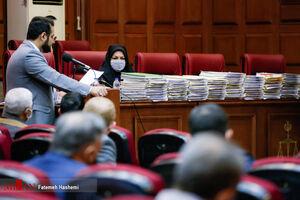 عکس/ حجم پرونده اتهامات «حسن رعیت»