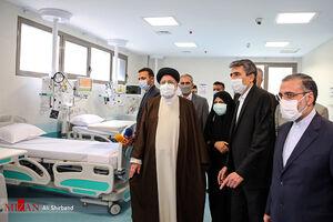 عکس/ آیین بهره برداری از بیمارستان فوق تخصصی عدل